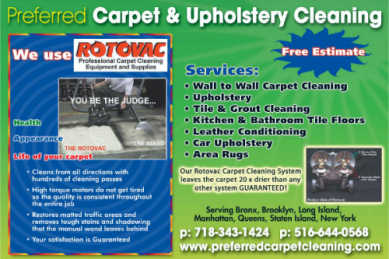 Preferred Carpet Cleaning Flyer